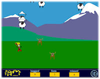 Bag the Sheep game